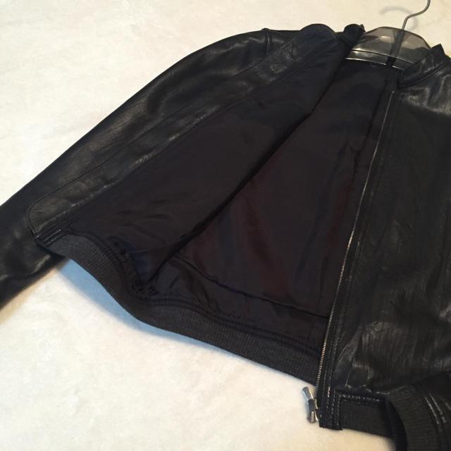 Edition(エディション)の定価7万円‼️Edition レザージャケット レディースのジャケット/アウター(ライダースジャケット)の商品写真