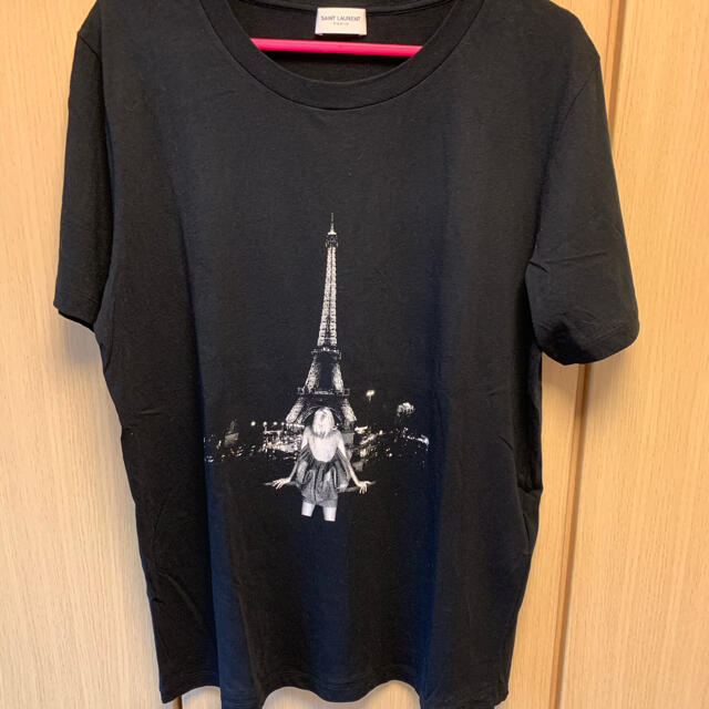 Saint Laurent(サンローラン)の正規未使用 19SS サンローランパリ エッフェル塔 Tシャツ メンズのトップス(Tシャツ/カットソー(半袖/袖なし))の商品写真