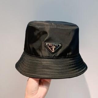 【サイズ:M】新品 プラダ ナイロン ハット 帽子
