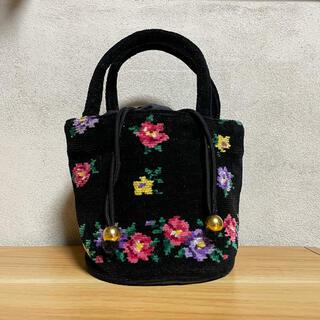 FEILER - フェイラー 花柄ハンドバッグ