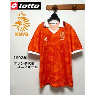 lotto - lotto ロット 1992年 サッカー オランダ代表 ユニフォーム