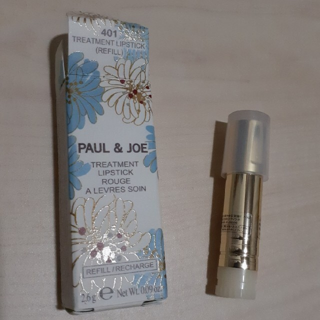 PAUL & JOE(ポールアンドジョー)のポール&ジョー リップスティックとケース コスメ/美容のスキンケア/基礎化粧品(リップケア/リップクリーム)の商品写真