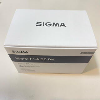 SIGMA - シグマ レンズ ソニーEマウント 交換用レンズ 16mm F1.4 DC DN