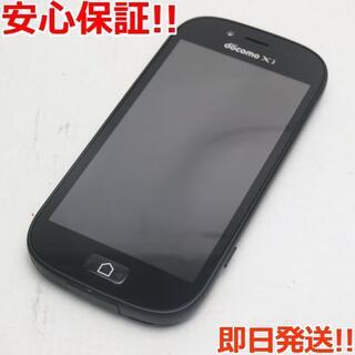 フジツウ(富士通)の超美品 F-06F らくらくスマートフォン3 ブラック (スマートフォン本体)