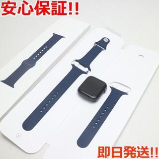 アップル(Apple)の美品AppleWatchseries4 44mmGPSスペースブラック(その他)