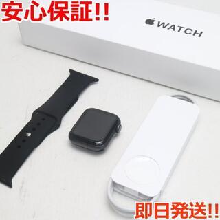 アップル(Apple)の超美品AppleWatchSEGPS40mmスペースグレイ(その他)