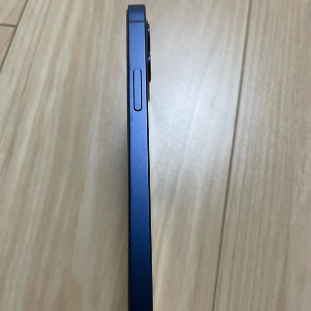 iPhone(アイフォーン)の美品 iPhone 12 64GB ブルー SIMフリーバッテリー94% スマホ/家電/カメラのスマートフォン/携帯電話(スマートフォン本体)の商品写真