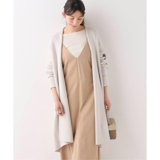 IENA(イエナ)のIENA C/Si ガウンコート◆ ¥18,700 レディースのジャケット/アウター(ガウンコート)の商品写真