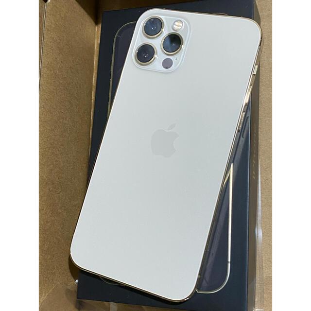 Apple(アップル)のiPhone 12pro ゴールド 256 GB SIMフリー スマホ/家電/カメラのスマートフォン/携帯電話(スマートフォン本体)の商品写真