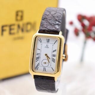フェンディ(FENDI)の正規品【新品電池】FENDI 500J/人気モデル 動作良好 ヴィンテージ(腕時計(アナログ))
