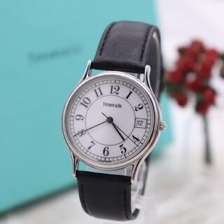 ティファニー(Tiffany & Co.)の正規品【新品電池】Tiffany& Co./人気モデル 美品 動作良好 アラビア(腕時計)