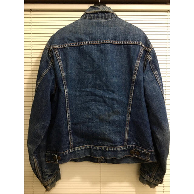 Levi's(リーバイス)の【ビッグE】濃紺 42-40 70505 60年代 ブランケット付 リーバイス メンズのジャケット/アウター(Gジャン/デニムジャケット)の商品写真