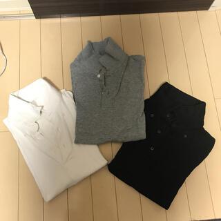 ユニクロ ポロシャツ 3枚セット