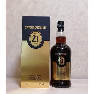 【送料無料】スプリングバンク 21年(ウイスキー)