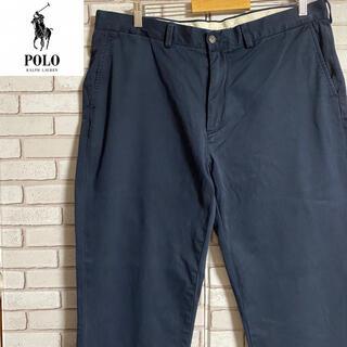 ポロラルフローレン(POLO RALPH LAUREN)の90s 古着 ポロ ラルフローレン クラシックチノ チノパン コットンパンツ(チノパン)