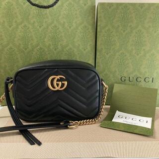Gucci - GUCCI GGマーモント ショルダーバッグ ミニ