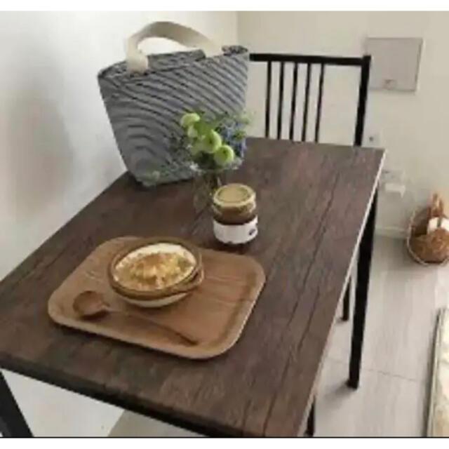 ヴィンテージ  アイアンウッド  テーブル/デスク☆*° インテリア/住まい/日用品の机/テーブル(ダイニングテーブル)の商品写真
