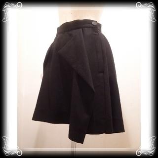 ヴィヴィアンウエストウッド(Vivienne Westwood)の新品 訳有り Vivienne Westwood スカート 日本製 黒 ブラック(ミニスカート)