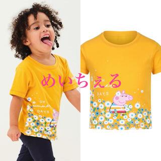 ネクスト(NEXT)の【新品】Regatta イエロー Peppa Pig Tシャツ(Tシャツ)