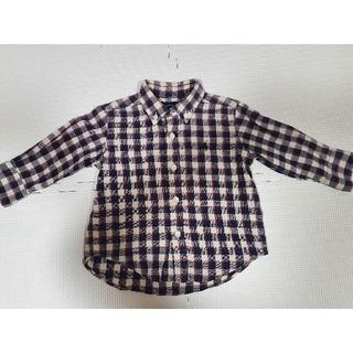 ラルフローレン(Ralph Lauren)のRALPH LAUREN チェックシャツ 80cm(シャツ/カットソー)