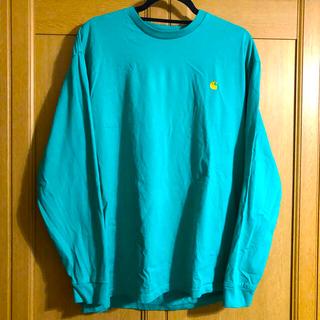 カーハート(carhartt)のCarhartt ワンポイント ロング tシャツ(Tシャツ/カットソー(半袖/袖なし))