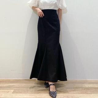 Lily Brown - lilybrown マーメイドスカート ブラック 新品未使用