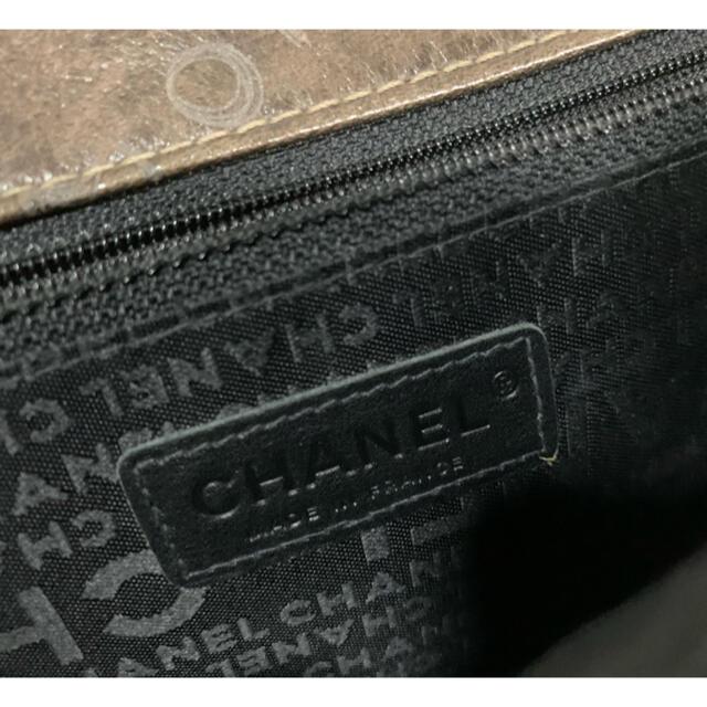 CHANEL(シャネル)のシャネルのコレクションライン?ヴィンテージ加工レア!お値引きしました! レディースのバッグ(ショルダーバッグ)の商品写真