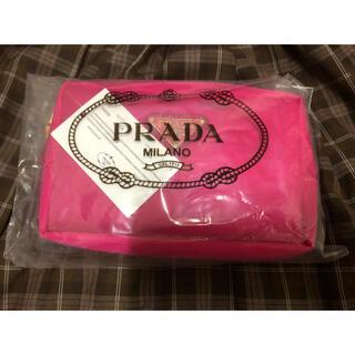 PRADA - prada 化粧ポーチ レア品 ピンク
