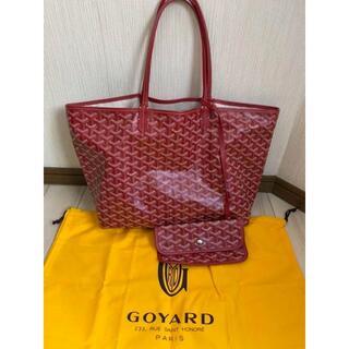 ゴヤール(GOYARD)の大人気 GOYARD  ゴヤールのトートバッグ  可愛い赤で(トートバッグ)