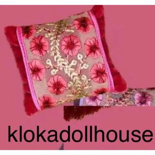 新品 KLOKA ドールハウス クッション オダニミユキ(人形)
