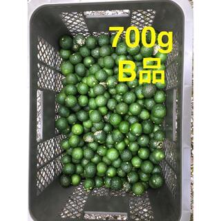 すだちB品 700g 有機 無農薬 皮まで安心(フルーツ)