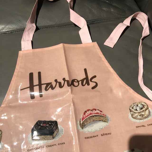 Harrods(ハロッズ)のハロッズエプロン大人用 レディースのレディース その他(その他)の商品写真