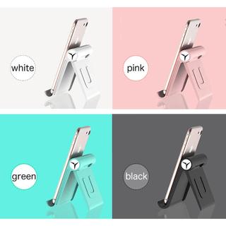 スマホスタンド 折りたたみ式 iPhone スマートフォン android(その他)