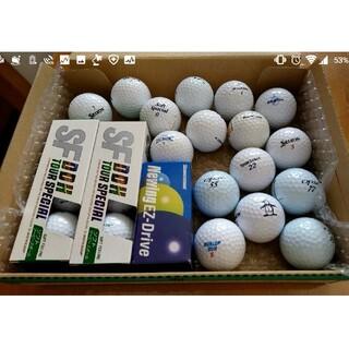 新品未使用ゴルフボール13個、ロストボール11個