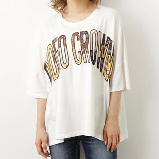ロデオクラウンズワイドボウル(RODEO CROWNS WIDE BOWL)のマルチカラーパッチトップス (Tシャツ(半袖/袖なし))