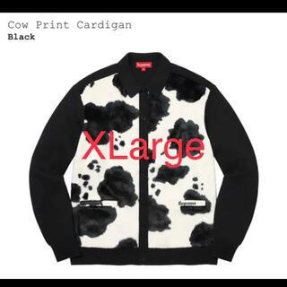 Supreme - Supreme Cow Print Cardigan シュプリーム カーディガン