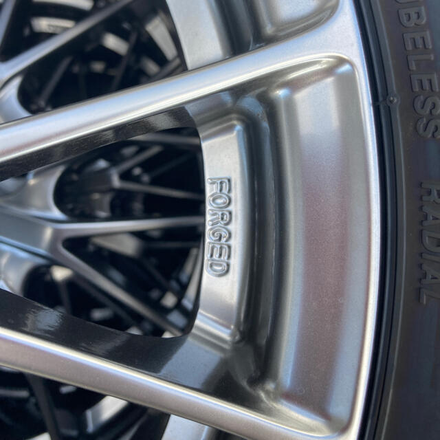 トヨタ(トヨタ)の(たけお様用)ヴォクシー 純正 BBS  新車外し 自動車/バイクの自動車(タイヤ・ホイールセット)の商品写真