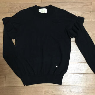 Chesty - chesty  Washable Frill Knit☆フリルニット ワンピース