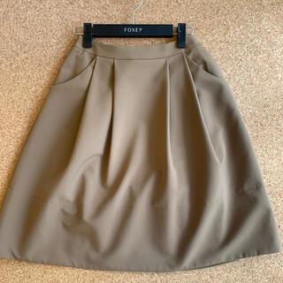 エムプルミエ(M-premier)の♡M-PREMIER BLACKエムプルミエ スカート  キャラメル♡(ひざ丈スカート)