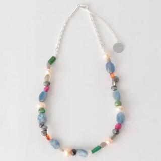 ジエダ(Jieda)のjieda mix stone necklace ネックレス ストーン(ネックレス)
