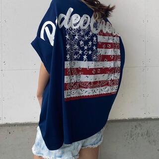 ロデオクラウンズワイドボウル(RODEO CROWNS WIDE BOWL)のアソートバンダナTシャツ(Tシャツ(半袖/袖なし))