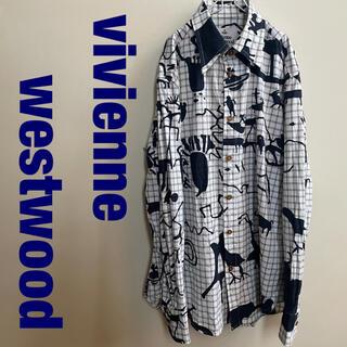 Vivienne Westwood - Vivienne Westwood 総柄 シャツ サイズ44