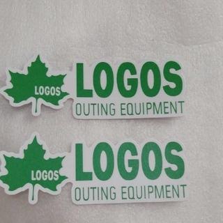 ロゴス(LOGOS)のお買い得!★ロゴスLOGOS防水ステッカー2枚★(その他)