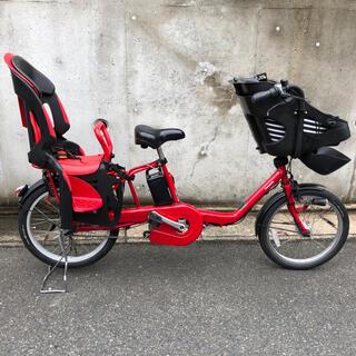 Panasonic - 福岡 パナソニック 電動自転車 前後子乗せ 3人乗り 20型