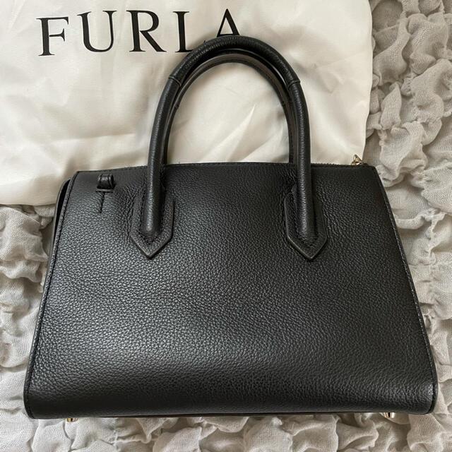 Furla(フルラ)の【美品】FURLA フルラ ピン 2way ショルダーバッグ ブラック  レディースのバッグ(ショルダーバッグ)の商品写真