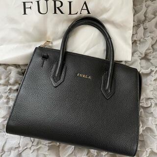 Furla - 【美品】FURLA フルラ ピン 2way ショルダーバッグ ブラック