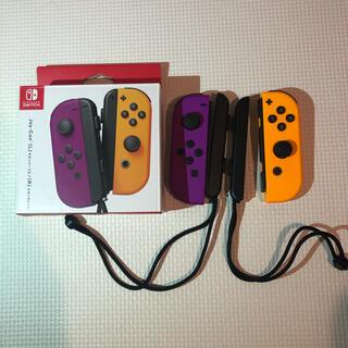 Nintendo Switch - 美品 ニンテンドースイッチ ジョイコン ネオンパープル/ネオンオレンジ