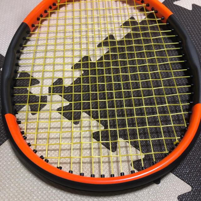 wilson(ウィルソン)のウィルソン バーン cv 95 リバースカラー スポーツ/アウトドアのテニス(ラケット)の商品写真