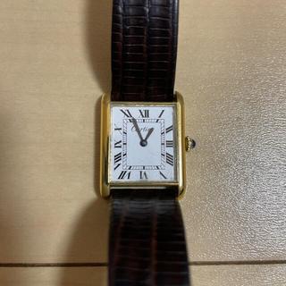 Cartier - Cartier カルティエ プレ マストタンク MM 手巻き アンティーク