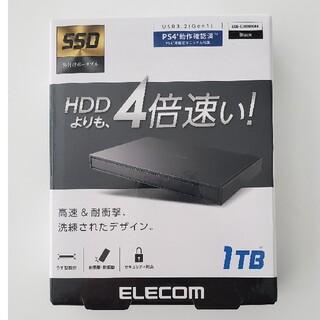 ELECOM - 【新品未使用】エレコム 外付けポータブルSSD ESD-EJ1000GBK